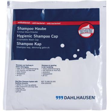 """Dahlhausen """"Waschen ohne Wasser"""" Shampoo-Haube antibakteriell"""