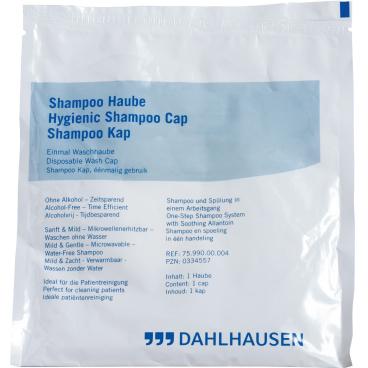 """Dahlhausen """"Waschen ohne Wasser"""" Shampoo-Haube"""