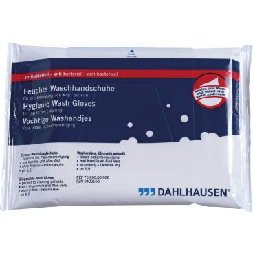 Dahlhausen feuchter Waschhandschuhe antibakteriell