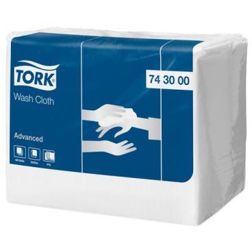 Tork Advanced Waschtuch, 8-lagig 1 Karton = 2 Packungen x 650 = 1.300 Tücher