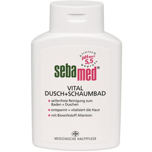 sebamed® Vital Dusch+Schaumbad