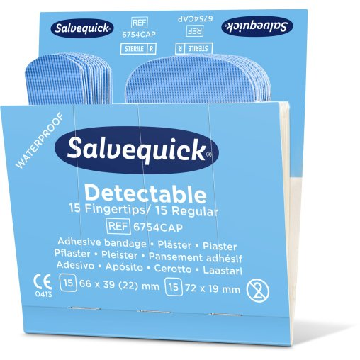 Cederroth Salvequick Detectable Pflastermix