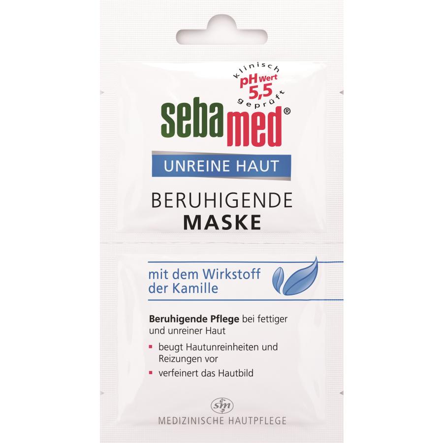 Sebamed Unreine Haut Beruhigende Maske 2 X 5 Ml Packung Online