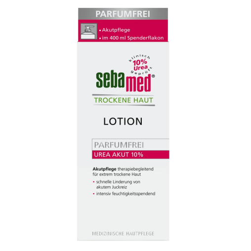sebamed® Trockene Haut Parfümfrei Lotion UREA AKUT 10%