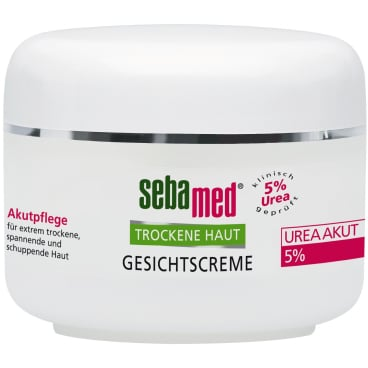 sebamed® Trockene Haut Gesichtscreme UREA AKUT 5%