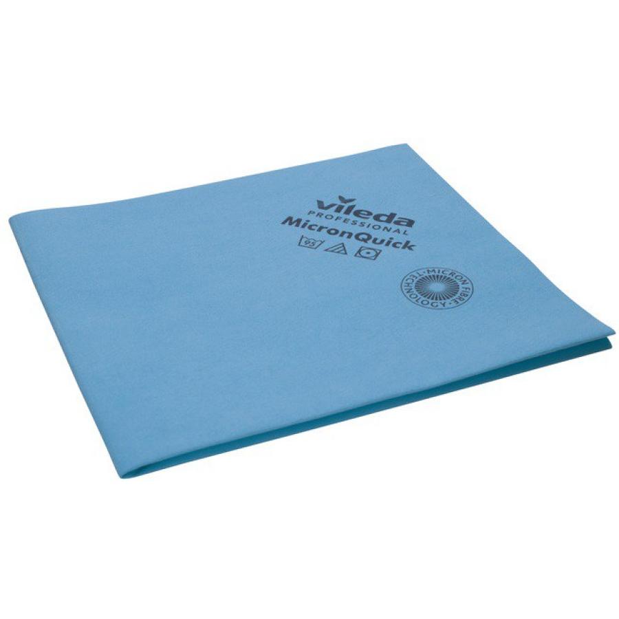 "5 Stück Vileda®  Professonal /""MicronQuick/""  Microfasertücher 38 x 40 cm blau"
