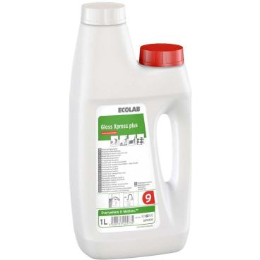ECOLAB GlossXpress plus Wischpflege 1000 ml - Dosierflasche zum Nachfüllen