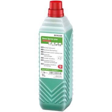ECOLAB GlossXpress plus Wischpflege 1000 ml - Öko-Nachfüllpack