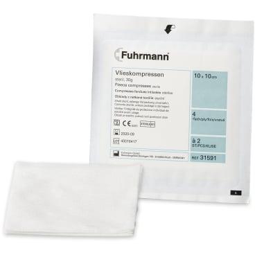 Fuhrmann  Vlieskompressen steril, 30 Gramm 6 - lagig