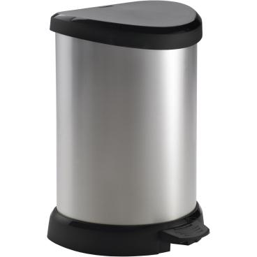 CURVER DECO Bin METALLIC´S Abfallbehälter, 20 Liter