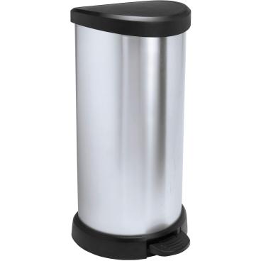 CURVER DECO Bin METALLIC´S Abfallbehälter, 40 Liter