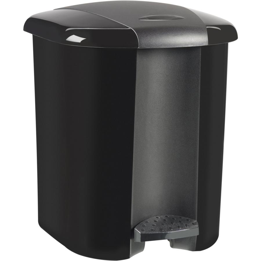 curver treteimer farbe schwarz online kaufen. Black Bedroom Furniture Sets. Home Design Ideas
