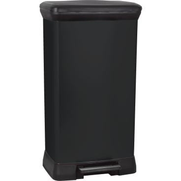 CURVER DECO Bin METALLIC´S Abfallbehälter, 50 Liter