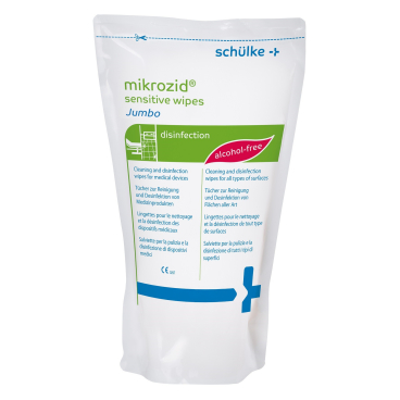 Schülke mikrozid® sensitive wipes Desinfektionstücher