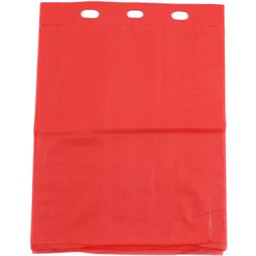 TSP Bio Hundekotbeutel Basic, breit, 25 x 31 cm 1 Block = 50 Stück, Farbe: rot