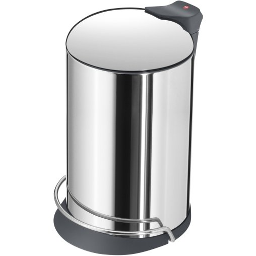 Hailo ProfiLine Solid Design M Tret-Abfallsammler, 12 l