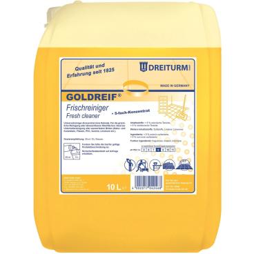 Dreiturm GOLDREIF® FRISCHREINIGER 10 l - Kanister