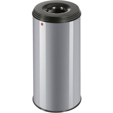 Hailo ProfiLine Safe XL Flammenlöschender Papierkorb, 45 Liter