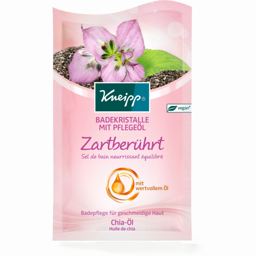 Kneipp® Badekristalle mit Pflegeöl - Zartberührt mit Chia-Öl