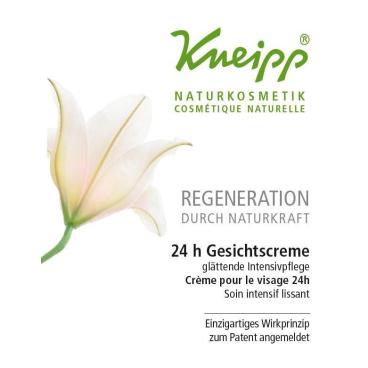 Kneipp® Naturkosmetik Regeneration 24h Gesichtscreme