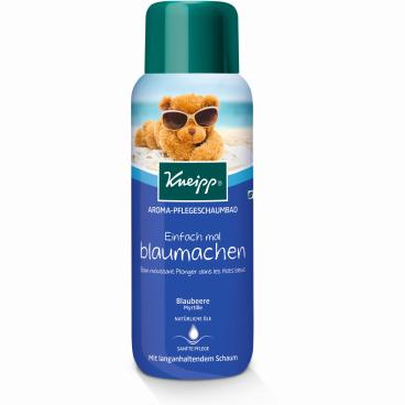 Kneipp® Einfach mal blaumachen Aroma-Pflegeschaumbad