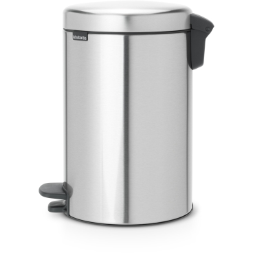 Brabantia NEWICON Treteimer, 12 l Matt Steel Fingerprint Proof