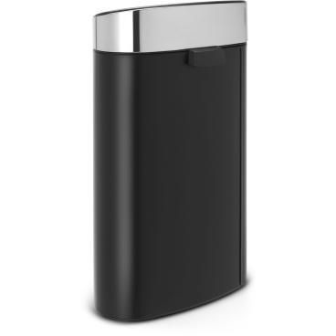 Brabantia Prullenbak 40 Liter.Brabantia Touch Bin New 40 Liter
