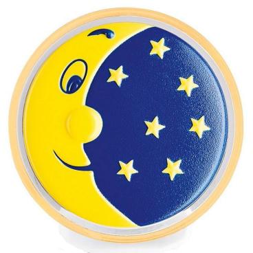 reer Mond und Sterne LED-Nachtlicht Kindliches Motiv: Mond und Sterne