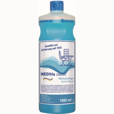 Dreiturm NEOFRIS classic Alkoholreiniger 1 l - Rundflasche