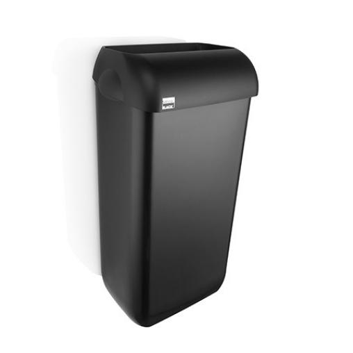 SATINO Black Abfallbehälter, 23 Liter