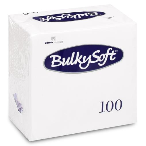 BulkySoft Tafelservietten, 2-lagig, 1/4 Falz, 24 x 24 cm