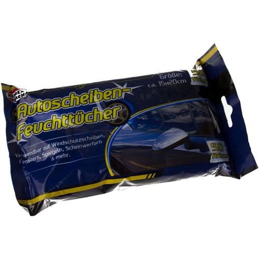 Reinex Autoscheiben-Feuchttücher