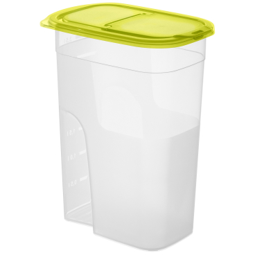 Rotho SUNSHINE Schüttdose, transparent grün
