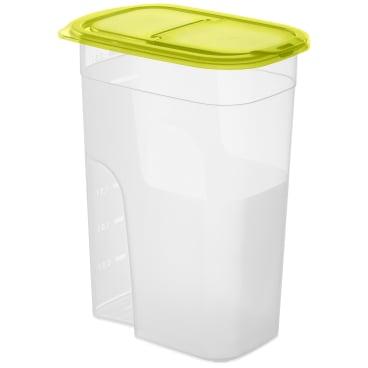 Rotho SUNSHINE Schüttdose, transparent / grün