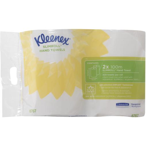 SCOTT® Slimroll Rollenhandtuchpapier, weiß
