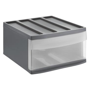 Rotho SYSTEMIX Schubladenbox, 1 Schubfach