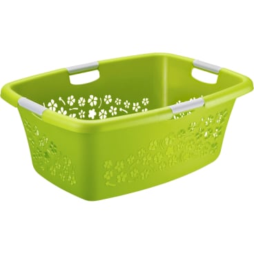Rotho FLOWERS Wäschekorb, 50 Liter
