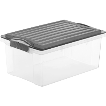 Rotho COMPACT Stapelbox, 13 Liter