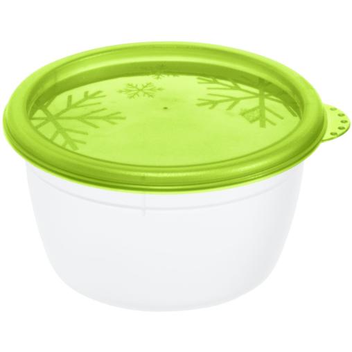 Rotho RONDO Set Kühlschrankdosen, 4 teilig, 150 ml