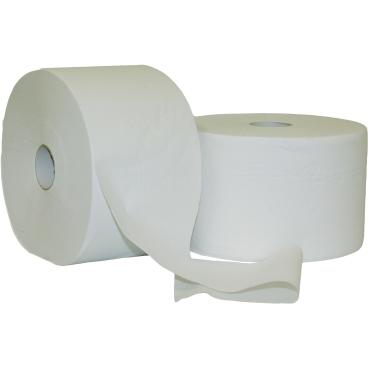 Putztuchrolle aus Zellstoff, weiß