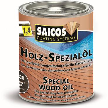 SAICOS Holzspezialöl, schwarz