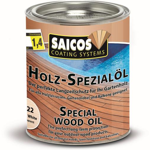 SAICOS Holzspezialöl, weiß