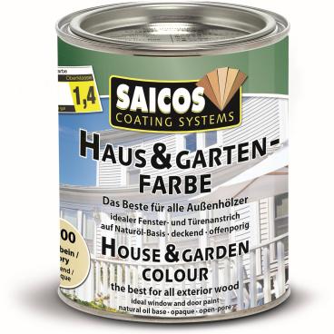 SAICOS Haus- & Gartenfarbe, elfenbein