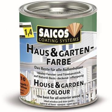 SAICOS Haus- & Gartenfarbe, fichtengelb
