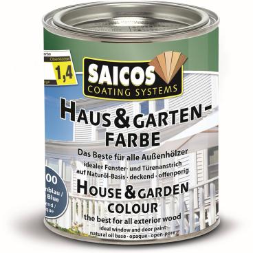 SAICOS Haus- & Gartenfarbe, taubenblau