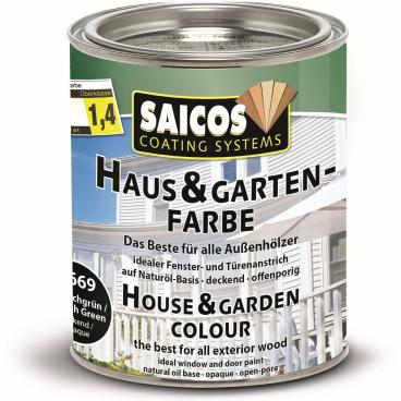 SAICOS Haus- & Gartenfarbe, englischgrün