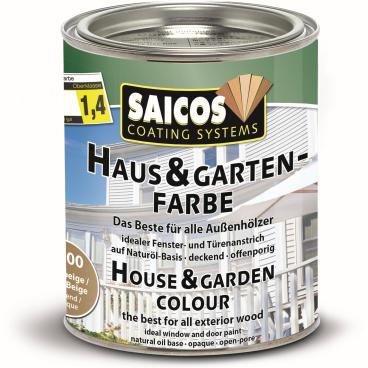SAICOS Haus- & Gartenfarbe, sandbeige