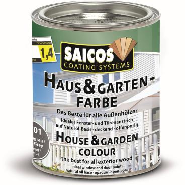 SAICOS Haus- & Gartenfarbe, felsengrau