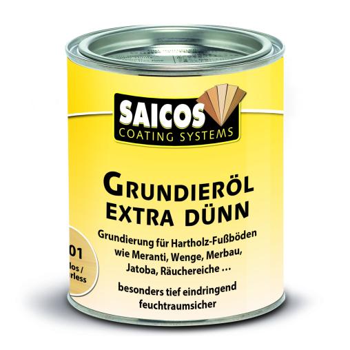 SAICOS Grundieröl Extra Dünn, farblos