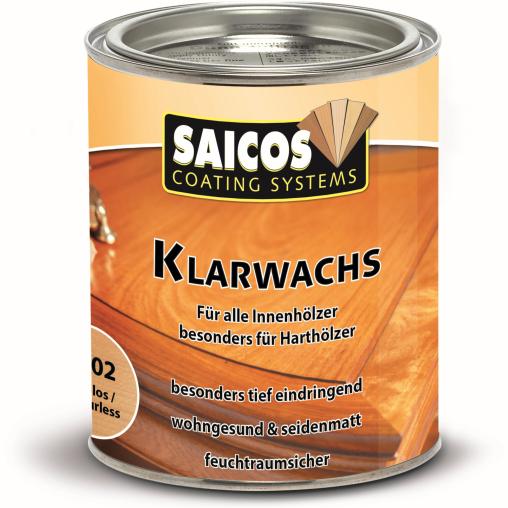 SAICOS Klarwachs, farblos